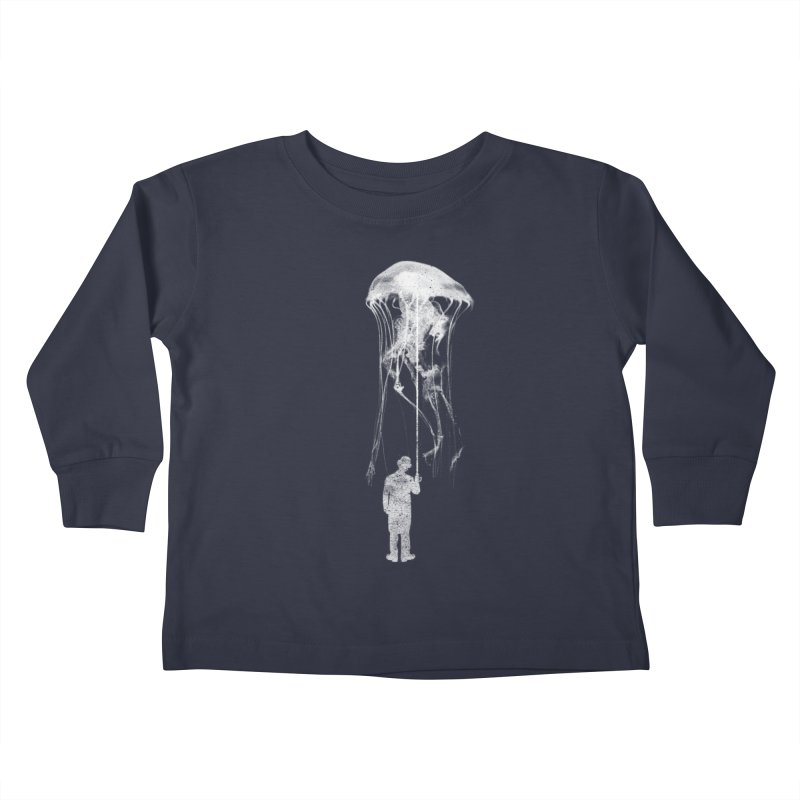 Unexpected Rain Kids Toddler Longsleeve T-Shirt by Misterdressup
