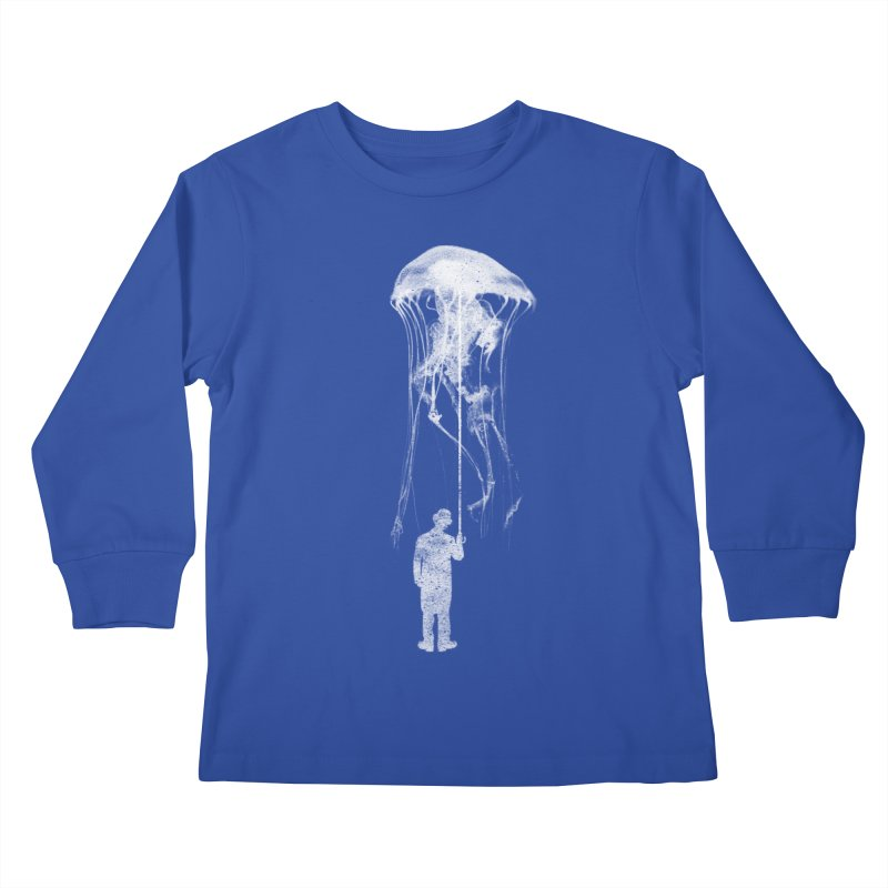 Unexpected Rain Kids Longsleeve T-Shirt by Misterdressup