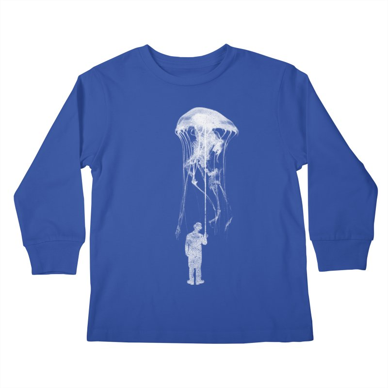 Unexpected Rain Kids Longsleeve T-Shirt by Misterdressup