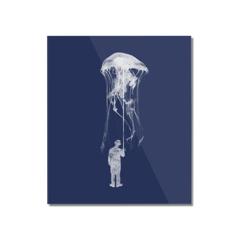 Unexpected Rain Home Mounted Acrylic Print by Misterdressup