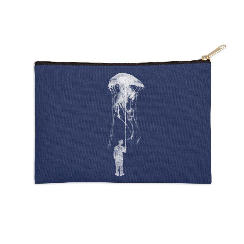 Unexpected Rain Accessories Zip Pouch by Misterdressup
