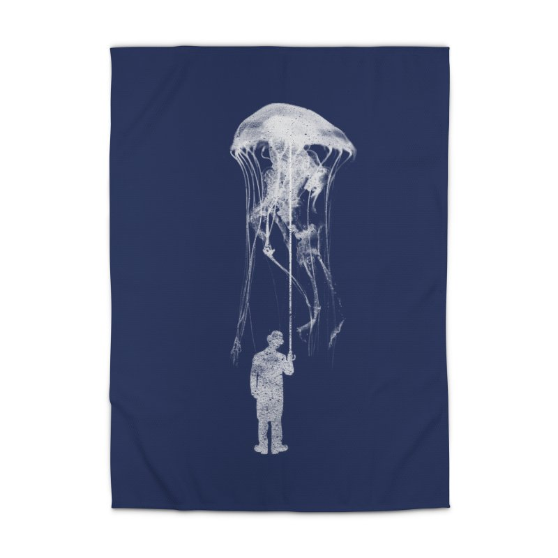 Unexpected Rain Home Rug by Misterdressup