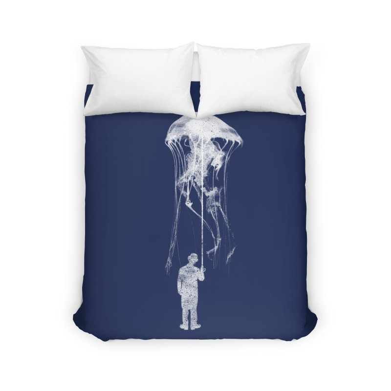 Unexpected Rain Home Duvet by Misterdressup