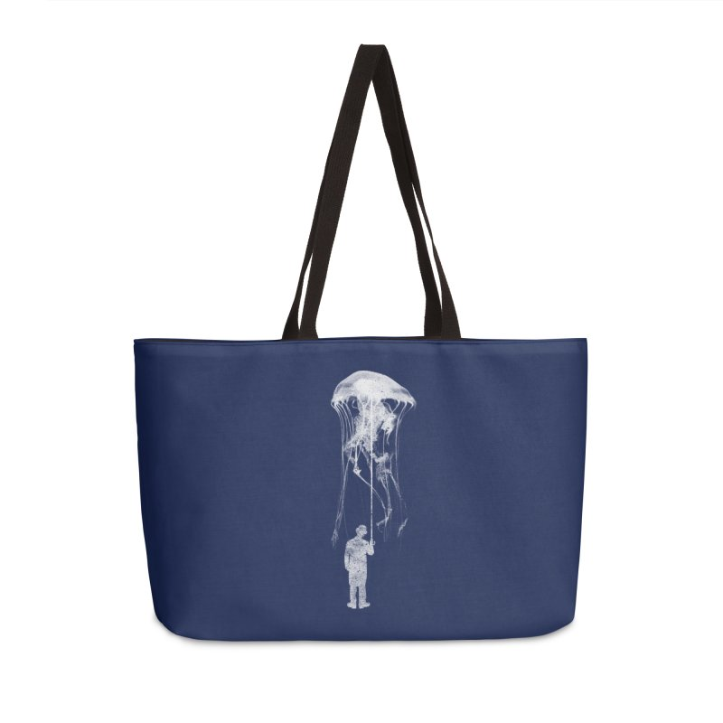 Unexpected Rain Accessories Weekender Bag Bag by Misterdressup