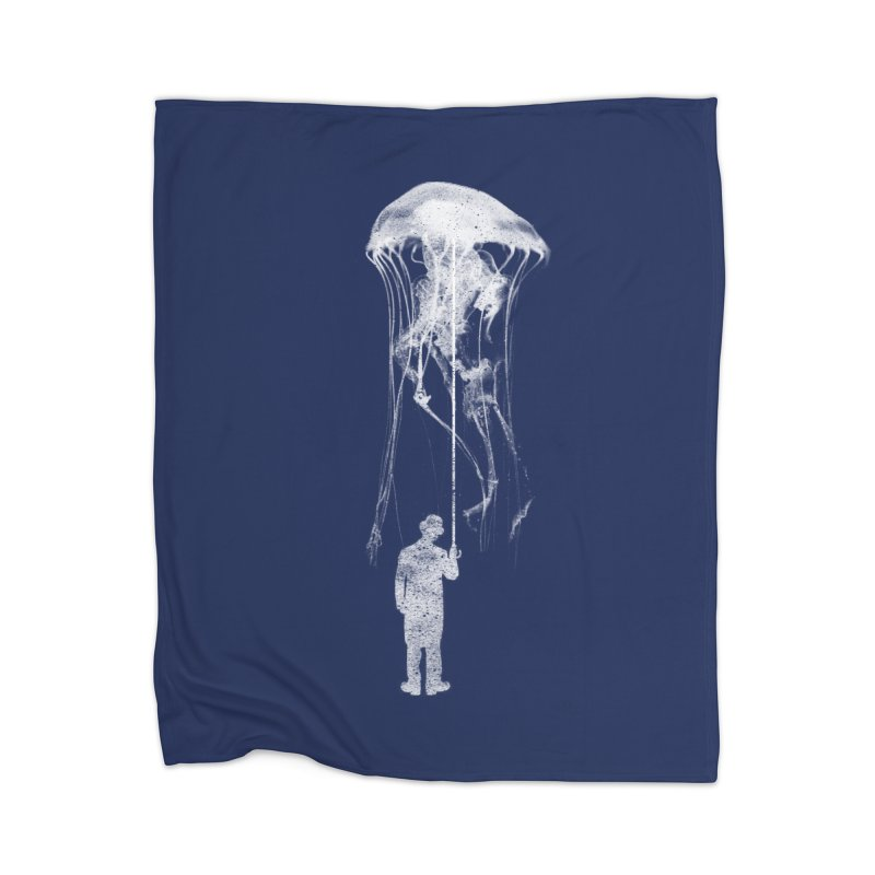 Unexpected Rain Home Blanket by Misterdressup