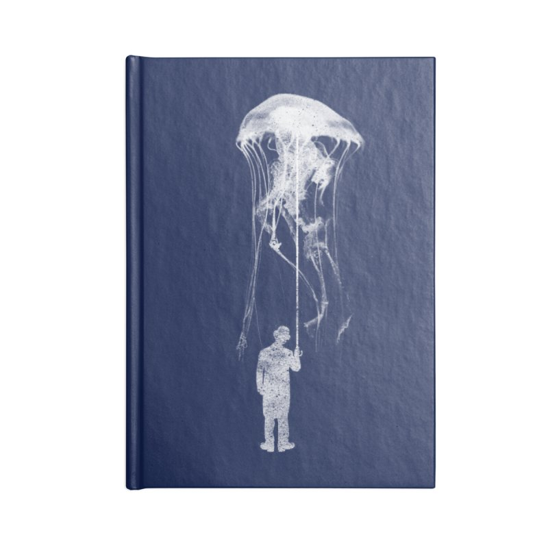 Unexpected Rain Accessories Lined Journal Notebook by Misterdressup