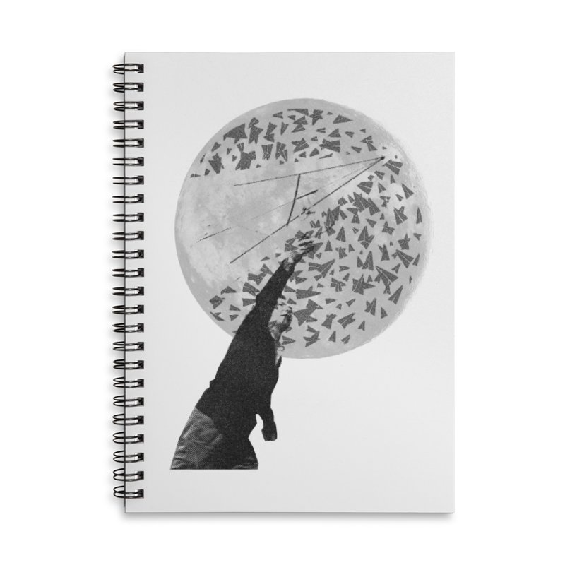 Paper Planes Accessories Lined Spiral Notebook by Misterdressup