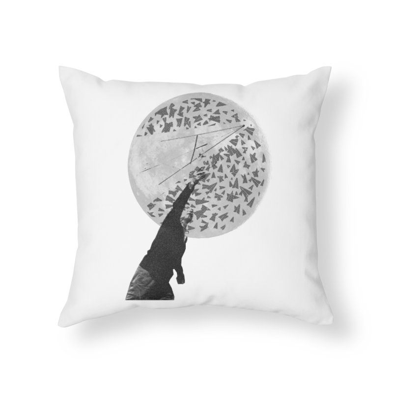 Paper Planes Home Throw Pillow by Misterdressup