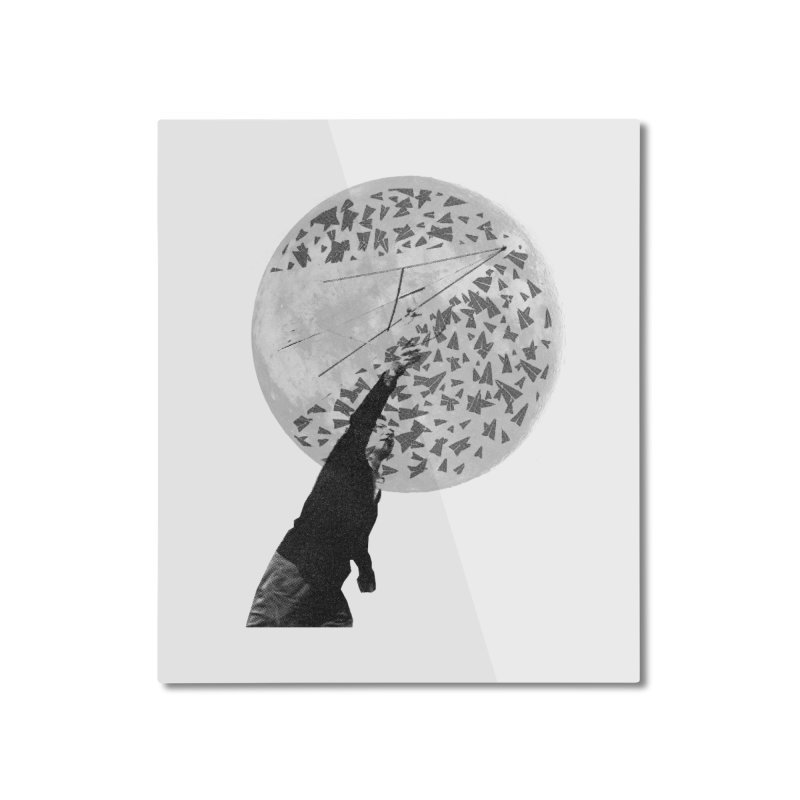 Paper Planes Home Mounted Aluminum Print by Misterdressup