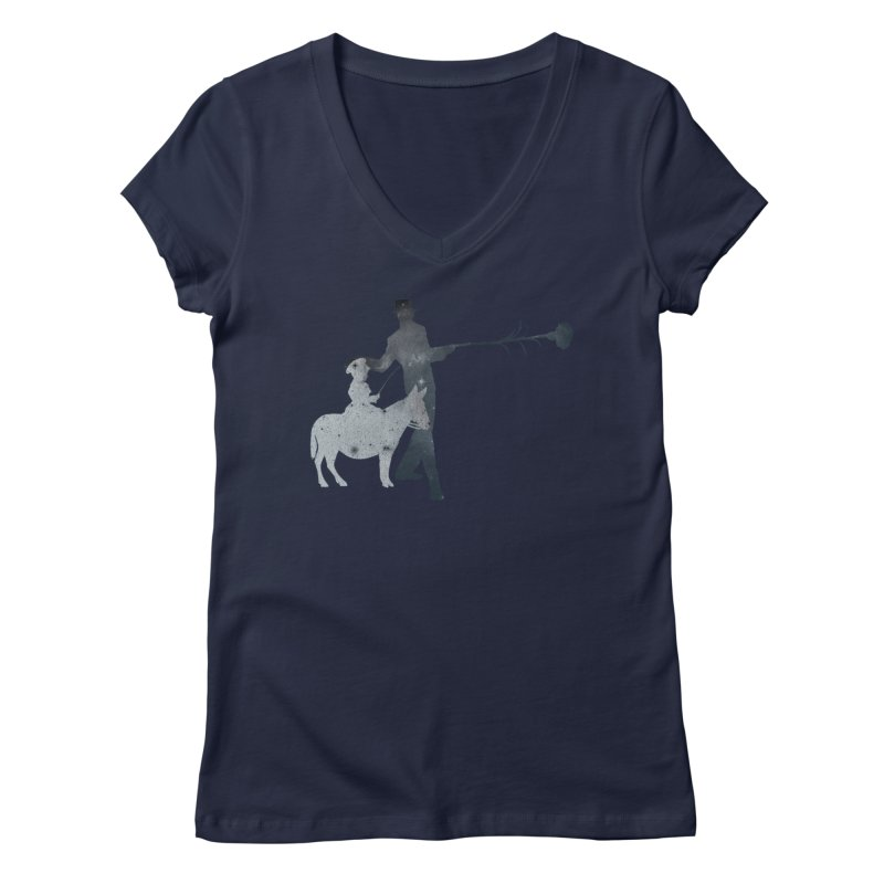 Lost Kids Women's Regular V-Neck by Misterdressup