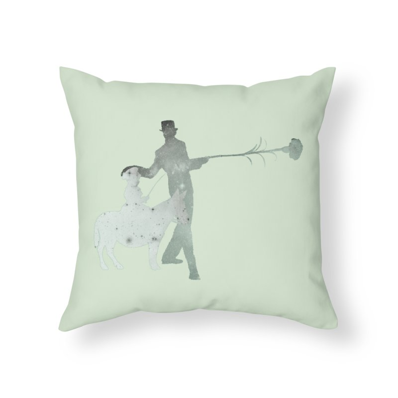 Lost Kids Home Throw Pillow by Misterdressup