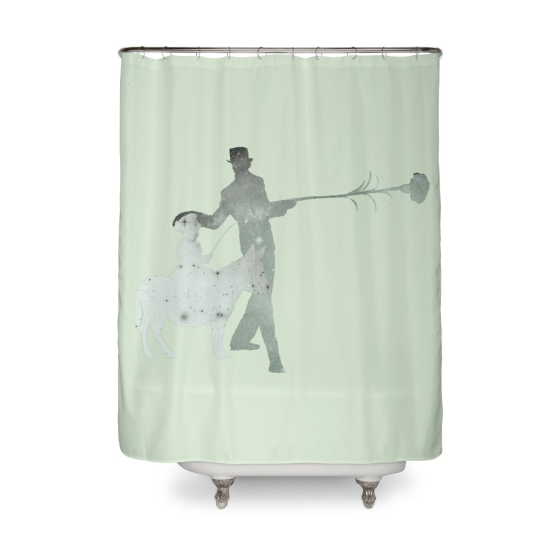 Lost Kids Home Shower Curtain by Misterdressup