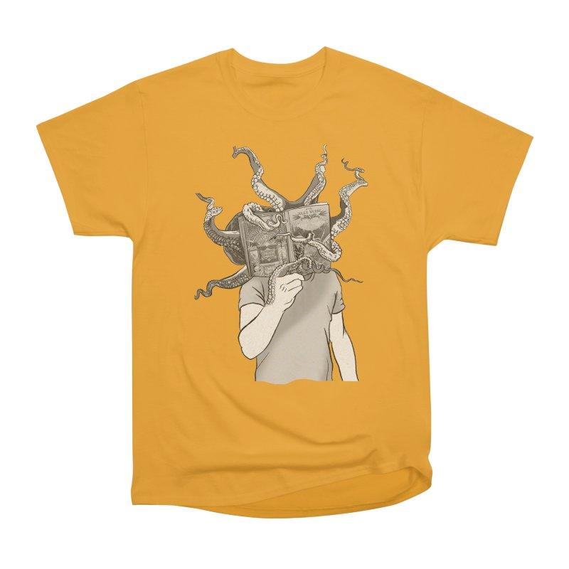Jules Vernes Men's Heavyweight T-Shirt by Misterdressup