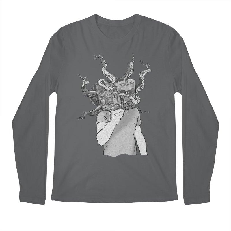 Jules Vernes Men's Longsleeve T-Shirt by Misterdressup