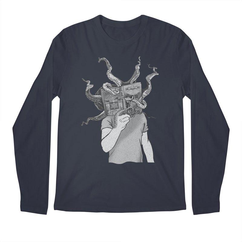 Jules Vernes Men's Regular Longsleeve T-Shirt by Misterdressup