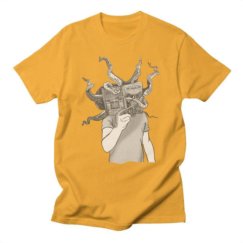 Jules Vernes Men's Regular T-Shirt by Misterdressup