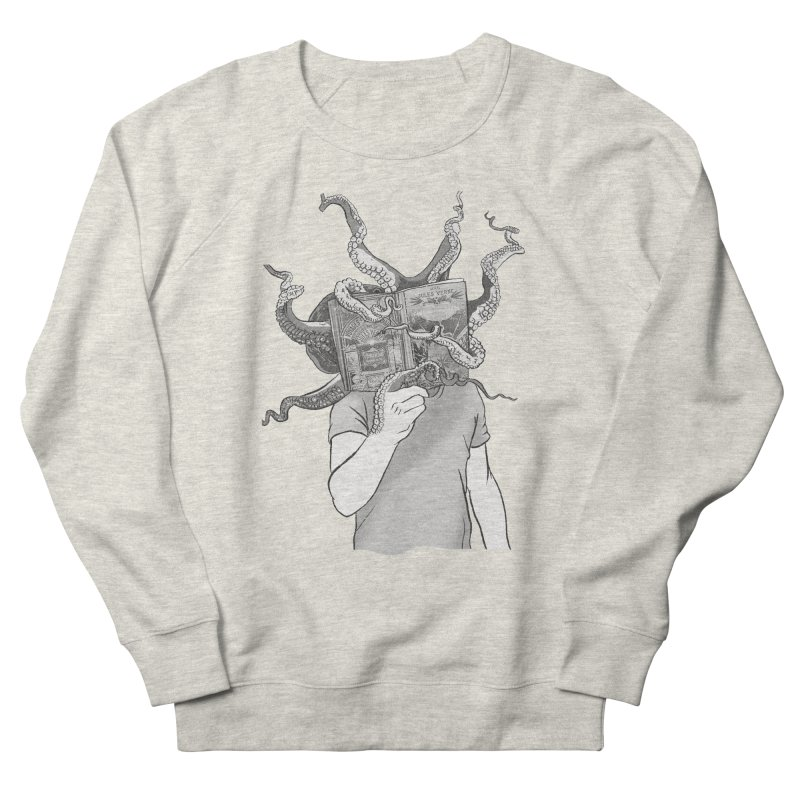 Jules Vernes Men's French Terry Sweatshirt by Misterdressup
