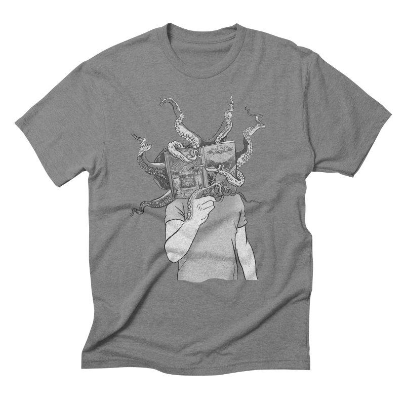 Jules Vernes Men's Triblend T-Shirt by Misterdressup