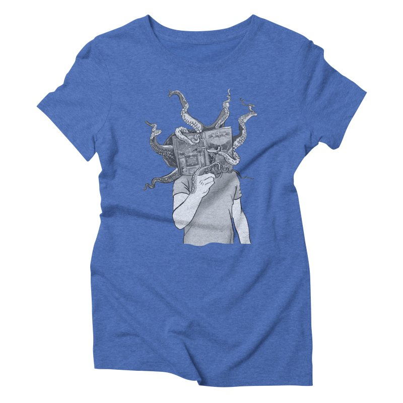 Jules Vernes Women's Triblend T-Shirt by Misterdressup