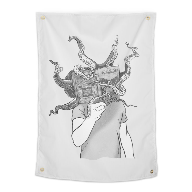 Jules Vernes Home Tapestry by Misterdressup