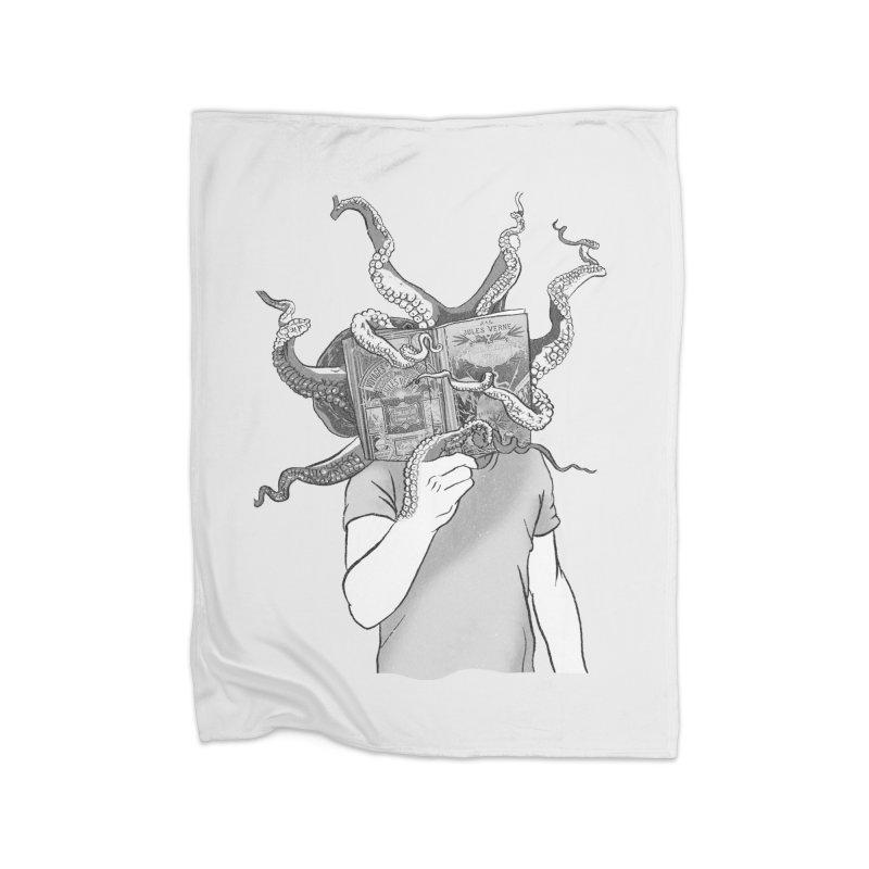Jules Vernes Home Blanket by Misterdressup