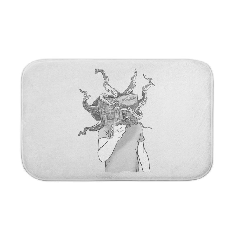 Jules Vernes Home Bath Mat by Misterdressup