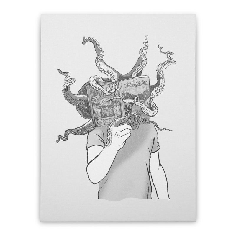 Jules Vernes Home Stretched Canvas by Misterdressup