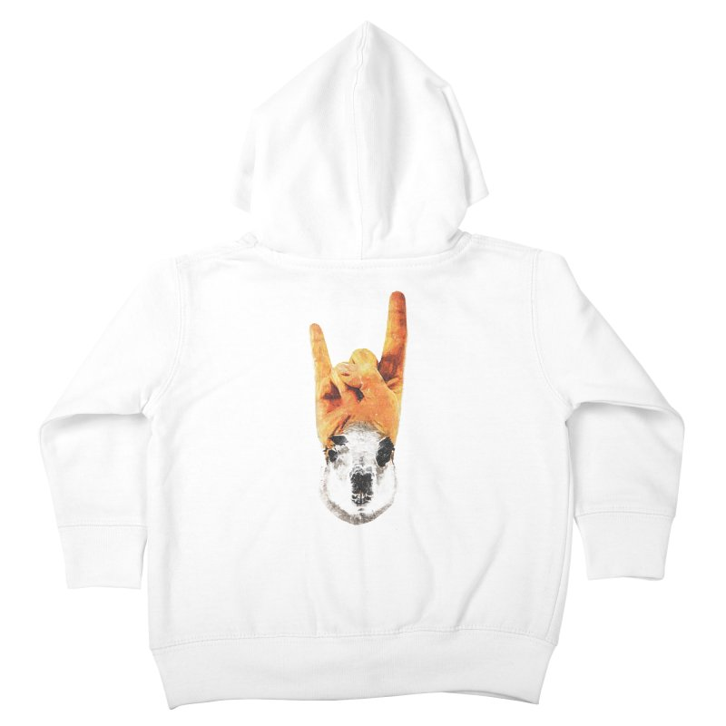 Lama Rock Kids Toddler Zip-Up Hoody by Misterdressup