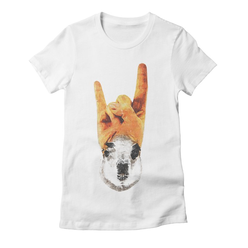 Lama Rock Women's T-Shirt by Misterdressup
