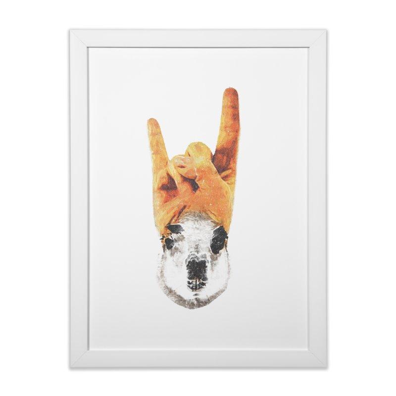 Lama Rock Home Framed Fine Art Print by Misterdressup