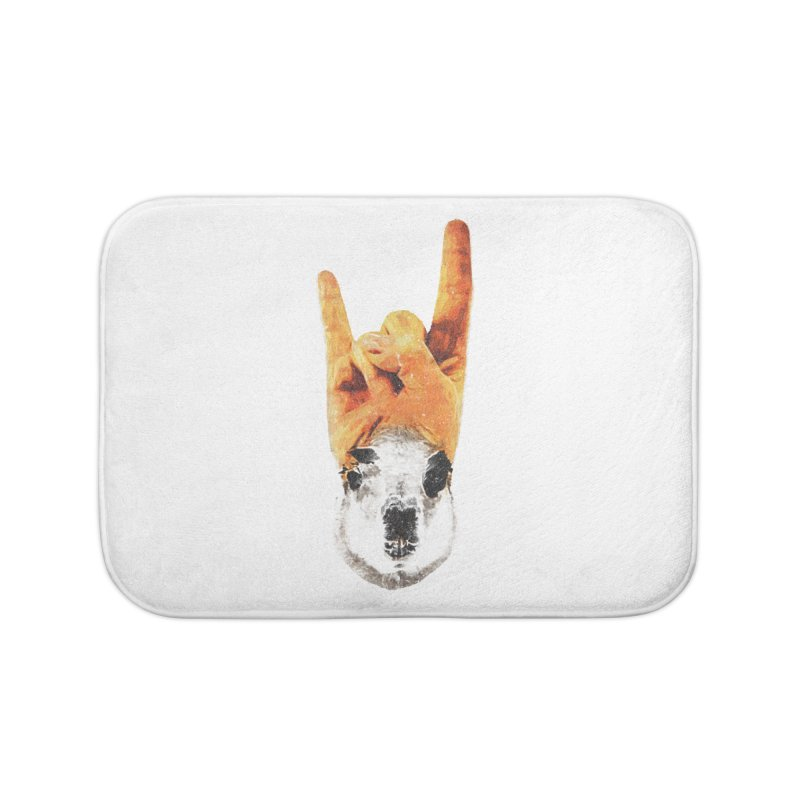 Lama Rock Home Bath Mat by Misterdressup