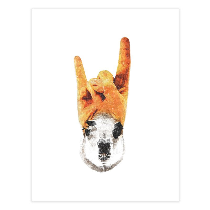 Lama Rock Home Fine Art Print by Misterdressup