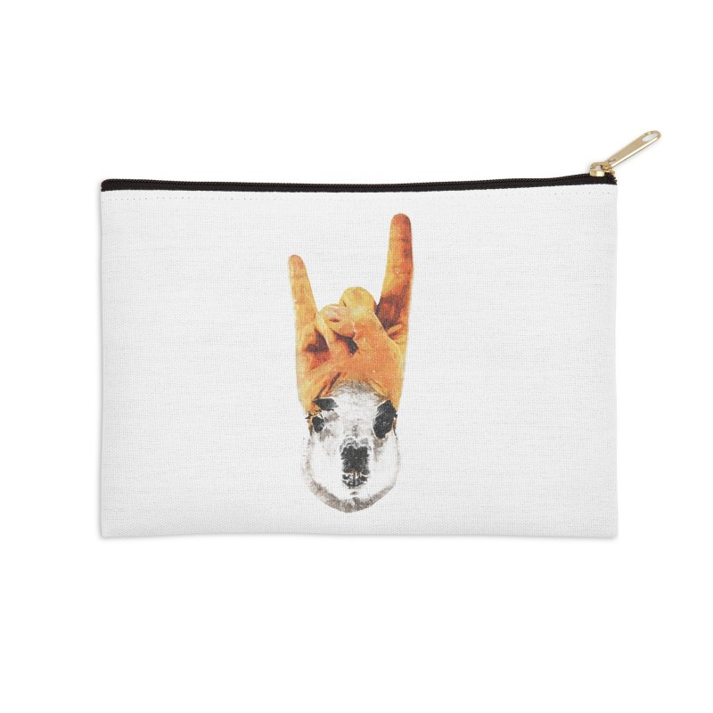Lama Rock Accessories Zip Pouch by Misterdressup