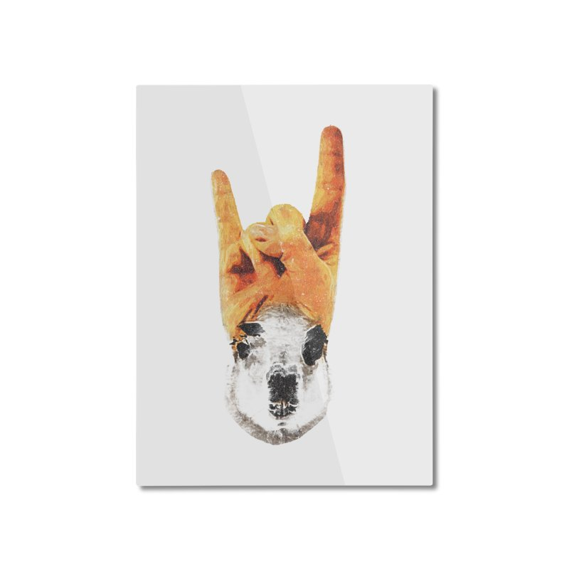 Lama Rock Home Mounted Aluminum Print by Misterdressup