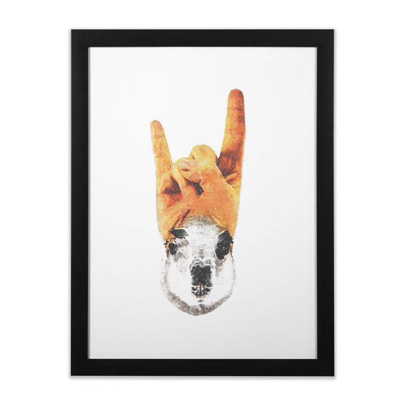 Lama Rock Home Framed Fine Art Print by Misterdressup