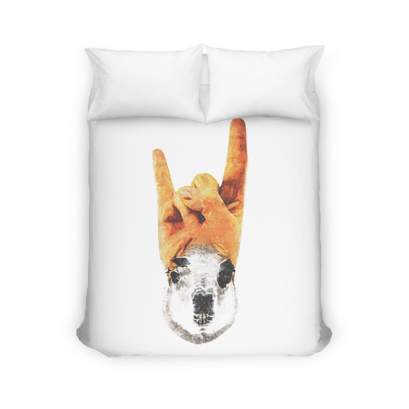 Lama Rock Home Duvet by Misterdressup