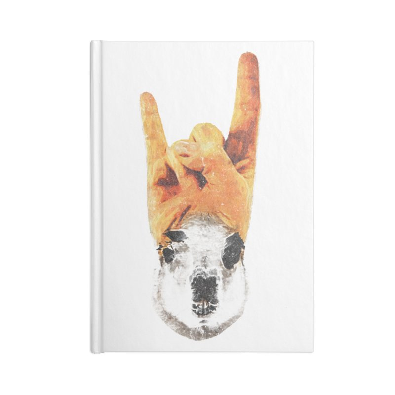 Lama Rock Accessories Lined Journal Notebook by Misterdressup