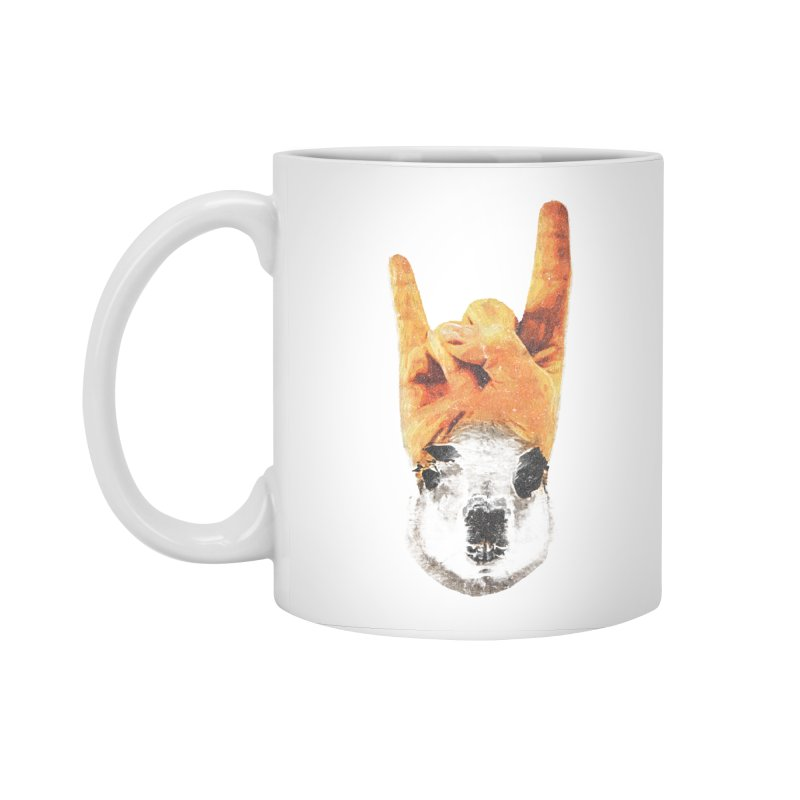 Lama Rock Accessories Standard Mug by Misterdressup