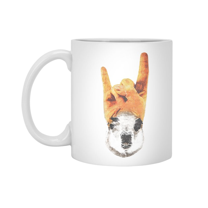 Lama Rock Accessories Mug by Misterdressup