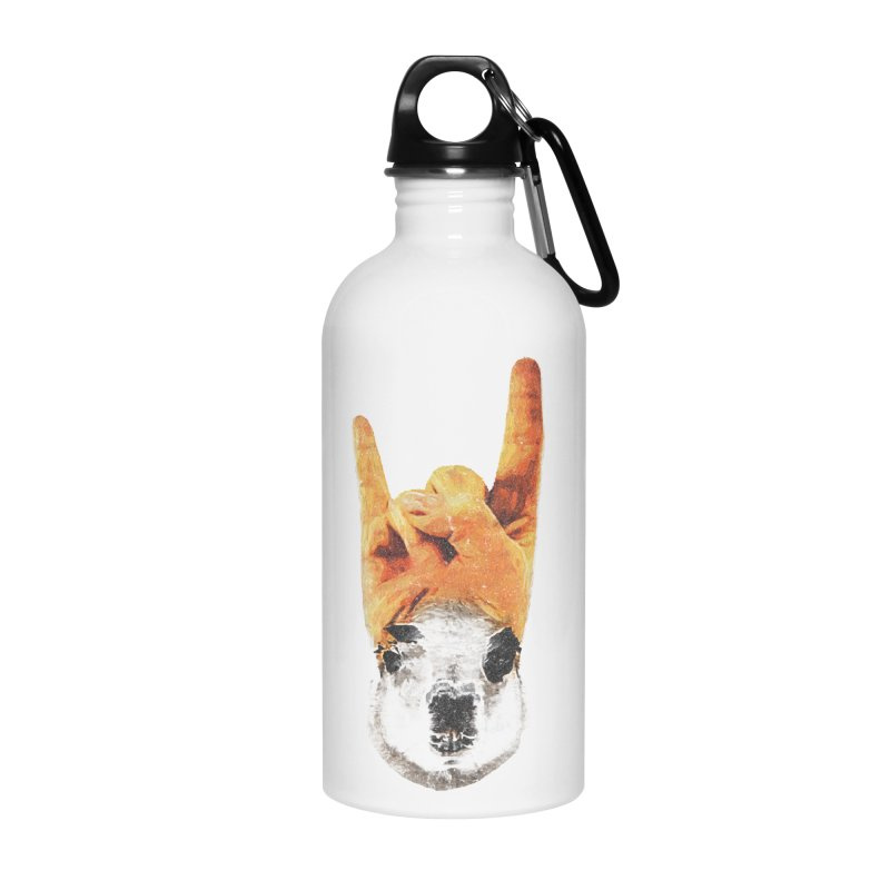 Lama Rock Accessories Water Bottle by Misterdressup