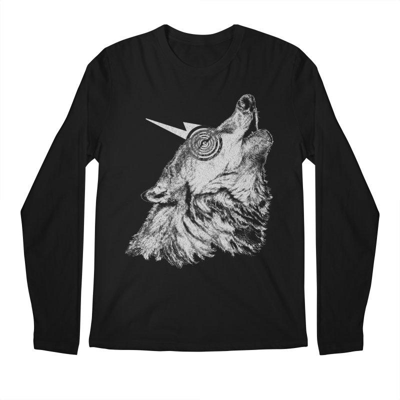 Tony White Men's Regular Longsleeve T-Shirt by Misterdressup