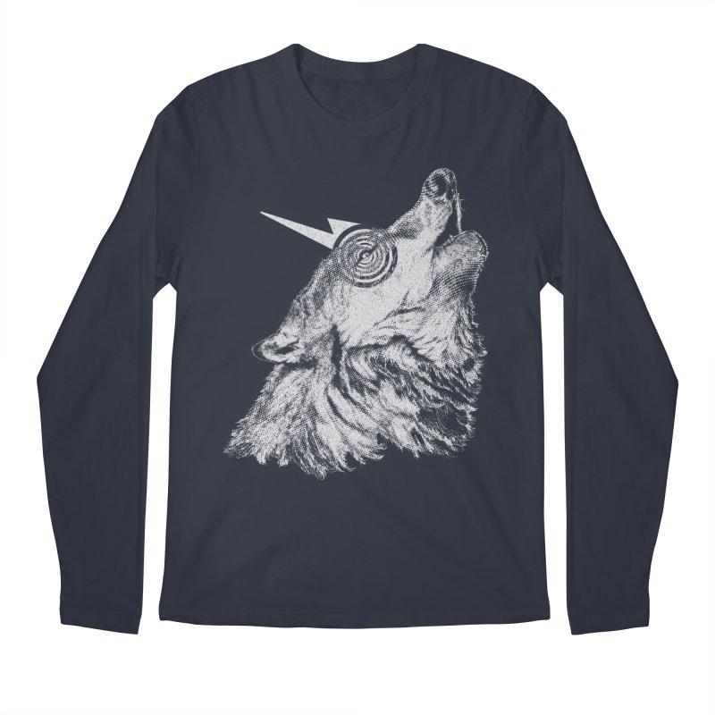 Tony White Men's Longsleeve T-Shirt by Misterdressup