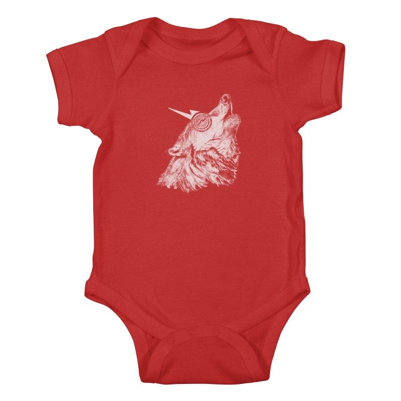 Tony White Kids Baby Bodysuit by Misterdressup