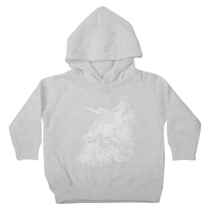 Tony White Kids Toddler Pullover Hoody by Misterdressup