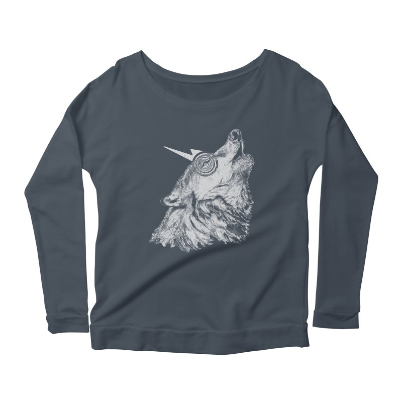 Tony White Women's Scoop Neck Longsleeve T-Shirt by Misterdressup