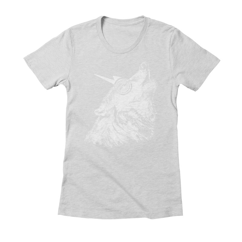Tony White Women's Fitted T-Shirt by Misterdressup