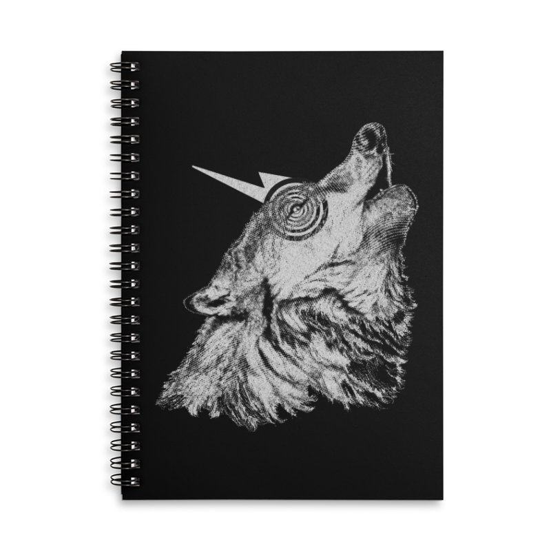 Tony White Accessories Lined Spiral Notebook by Misterdressup
