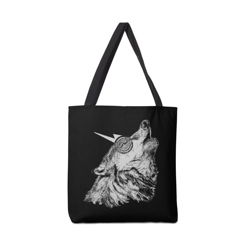 Tony White Accessories Tote Bag Bag by Misterdressup