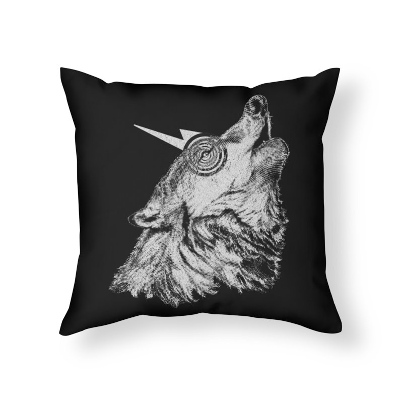Tony White Home Throw Pillow by Misterdressup