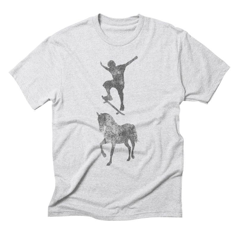 Tony Hawk Men's Triblend T-Shirt by Misterdressup